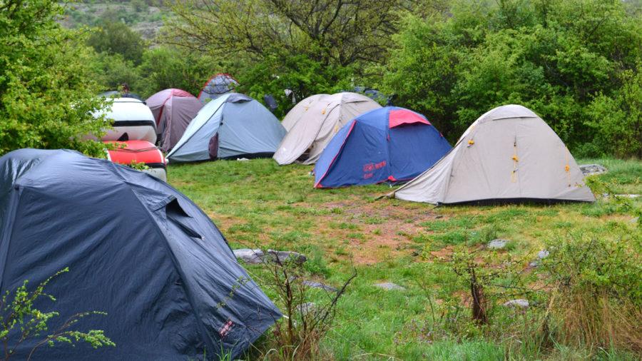 Рафтинг Южный Буг. Лагерь.