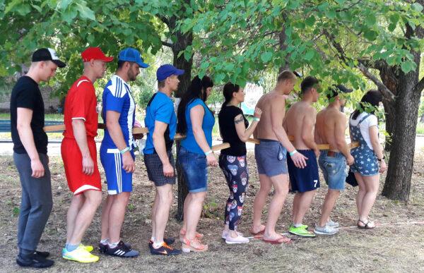 Веревочный тренинг. Упражнение полоса препядствий.