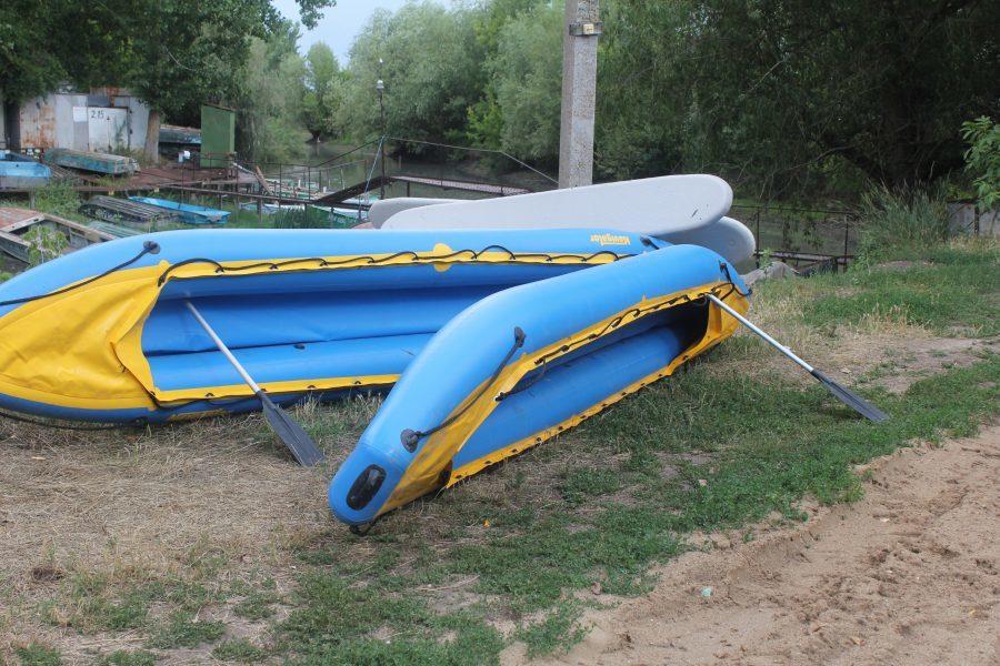 Сплав на байдарках по Турунчук. Сушим лодки