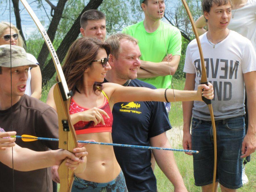 Активный корпоративный тимбилдинг на природе. Коммандообразование в Украине.