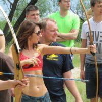 Тимбилдинг. Веревочный тренинг на природе. Стрельба из лука.
